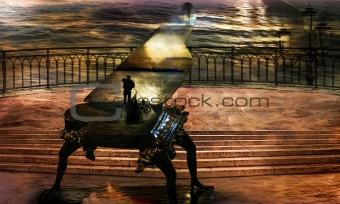 Gondolier`s sonata