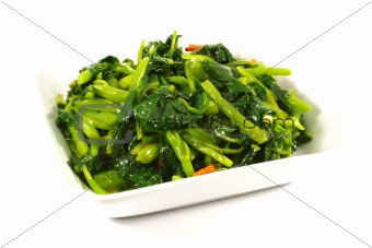 Asian Chinese Cooking Style Stir Fry Vegetable Dish