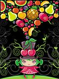 Fruity girl (fruit series)