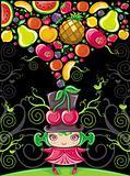 Fruity girl (fruit series)