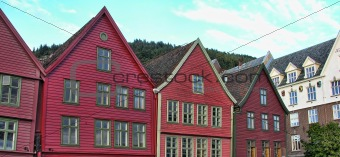 Architecture of Bergen, Norway