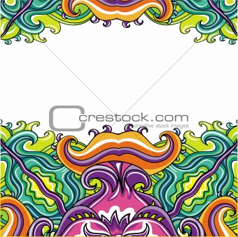 Abstract background ( floral series)