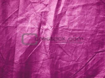 Bright pink creased grunge background