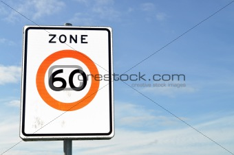 60 km/h Speed Limits