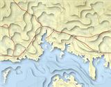 Coastal map
