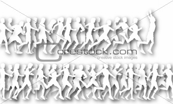 Foreground runners