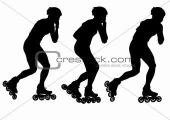 Skates man
