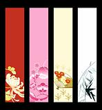 Asian art banners
