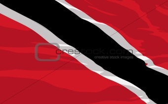 Vector flag of Trinidad and Tobago