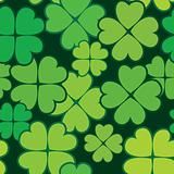 Patrick's day abstract seamless background