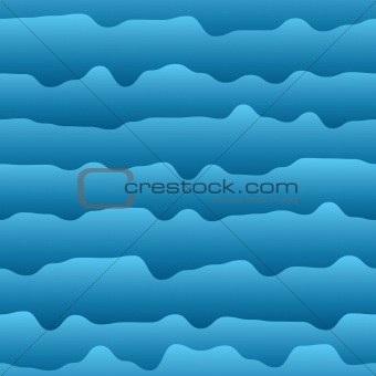 Abstract background of curves as water