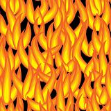 Abstract background of flame