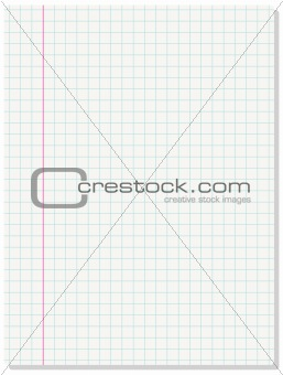 Background of blank paper sheet