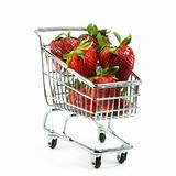 Strawberries in Cart