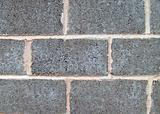 Gray breeze block wall