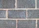 Gray breeze block wall