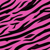 Animal background pattern - pink tiger skin texture