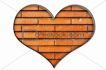 bricks heart