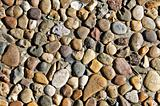pebbles wall background
