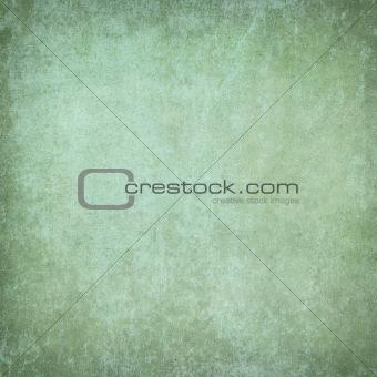 Green grunge plaster background