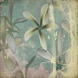 Grunge Pastel flower background