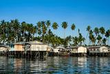 mabul island stilt houses borneo