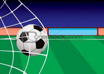 football pitch goal net