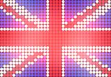 Dotted UK Flag