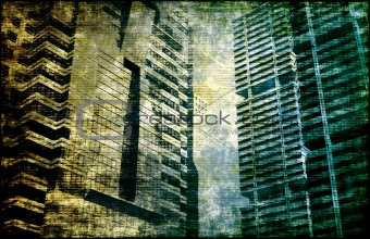 City Background Abstract
