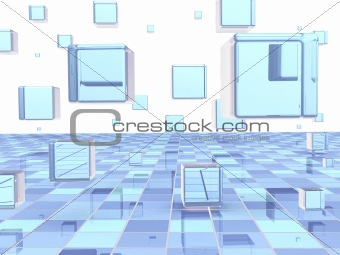 Abstract geometrical illustration
