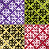 Collection of vector seamless pattern