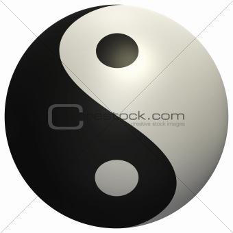 Yin Yang ball