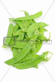 Close up of snow peas