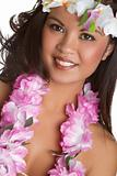 Tropical Lei Girl