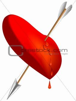 arrow of the cupid