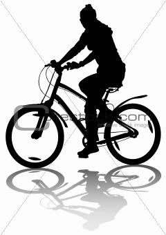 Cycling gyrl