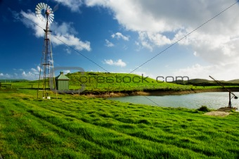 Windmill Landscape