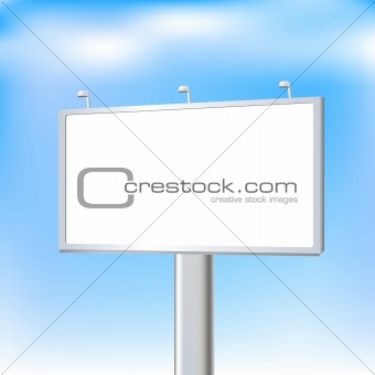 Blank Advertising Outdoor