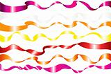 7 Colorful Ribbons