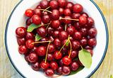 Cherries in the Bowl.