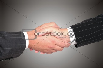 Business handshake dea