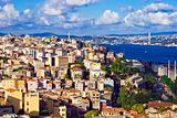 Istanbul and Bosphorus panorama