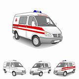 4 First aid car set,