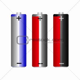 3 AA battery