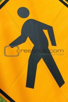 Cross walk sign macro