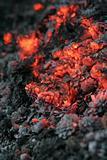 smolder coals