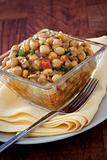 Spicy Moroccan Chickpeas Salad - Vegan