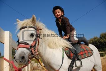 little girl and shetland