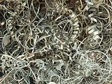 Waste lathe - metal shavings