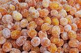 kumquat candies fruits